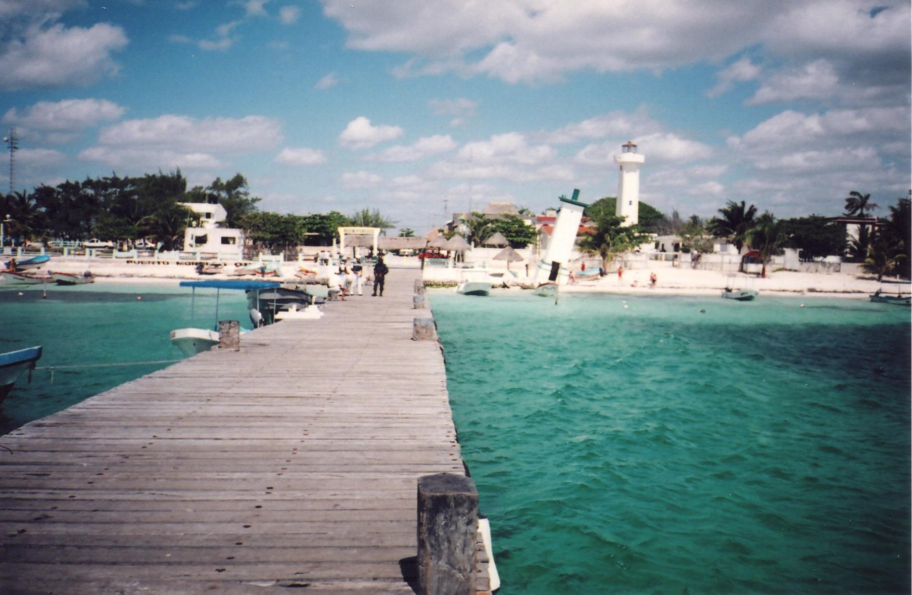 Las claras y azuladas aguas de Quintana Roo se hacen más exquisitas durante otoño.